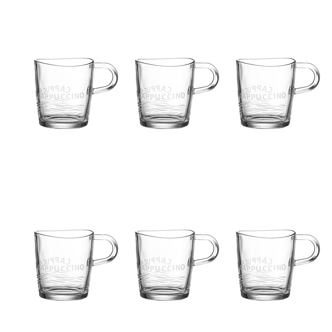 Henkelbecher Loop (6er-Set) – Satiniert, Leonardo günstig online kaufen