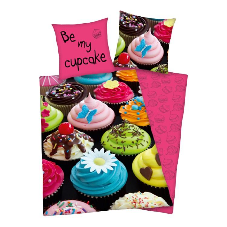 Bettwäsche Cupcakes, Herding günstig kaufen