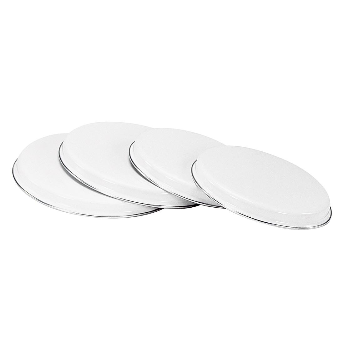 Herdplatten Set (4-teilig) – Weiß, Karl Krüger günstig online kaufen