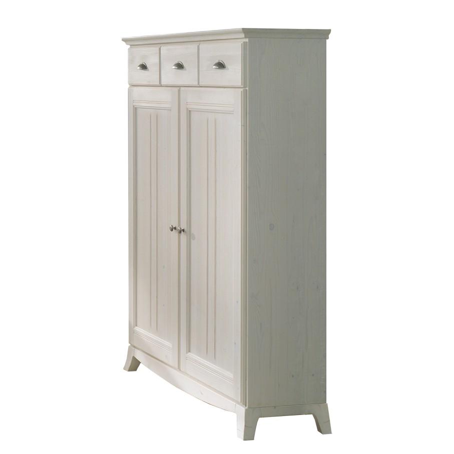 highboard akzenta fichte massivholz wei. Black Bedroom Furniture Sets. Home Design Ideas