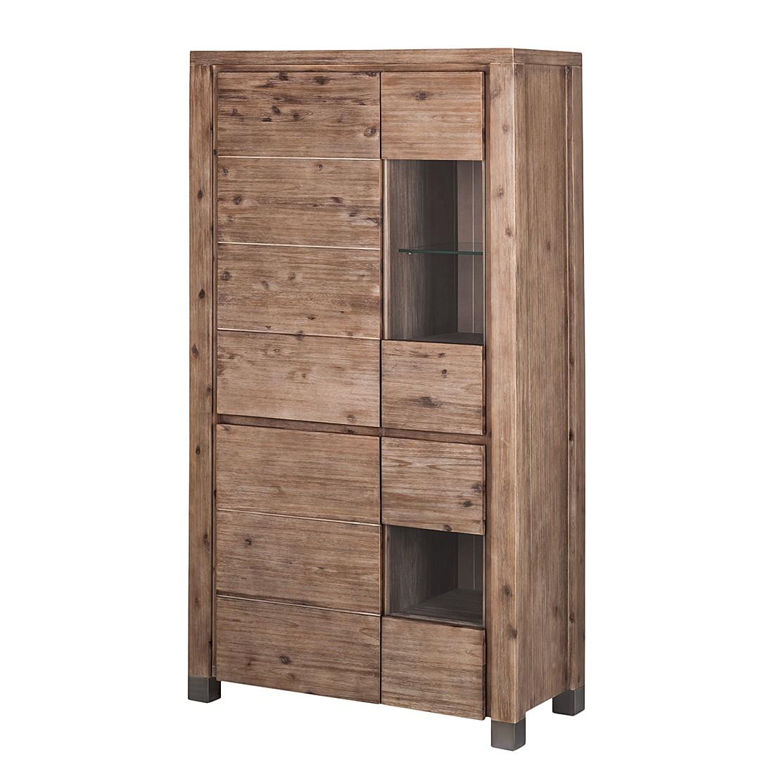 highboard delia akazie massiv braun highboard delia. Black Bedroom Furniture Sets. Home Design Ideas