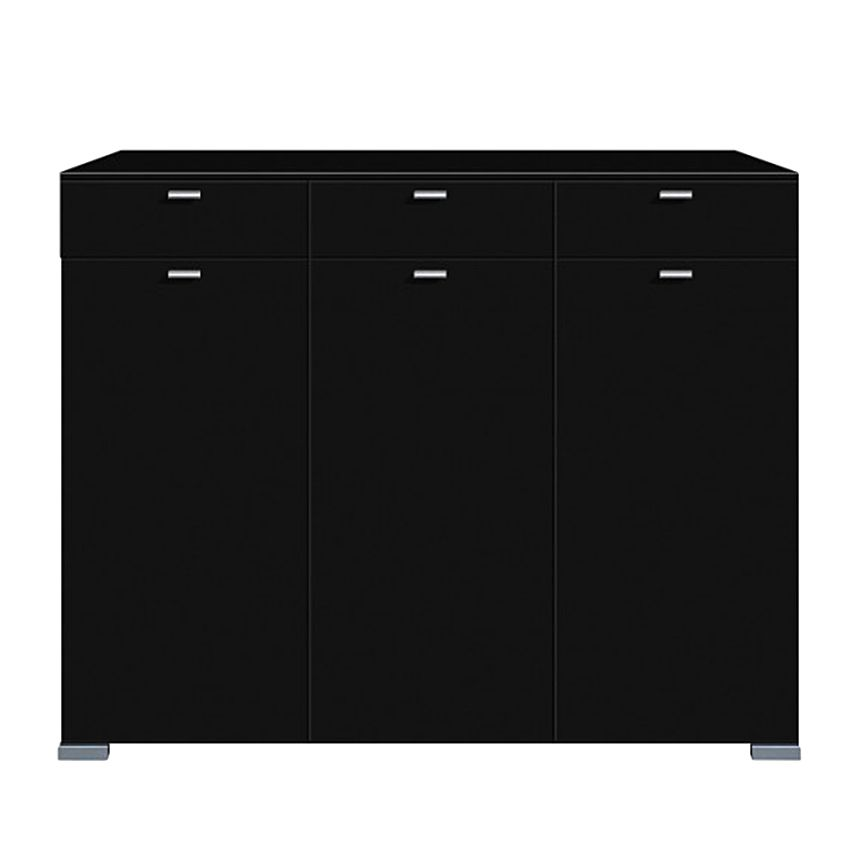 highboard gallery schwarz. Black Bedroom Furniture Sets. Home Design Ideas