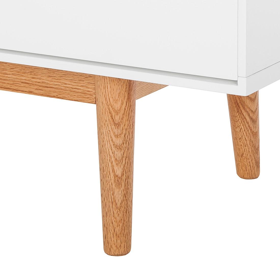 highboard lindholm i wei matt eiche massiv m rteens. Black Bedroom Furniture Sets. Home Design Ideas
