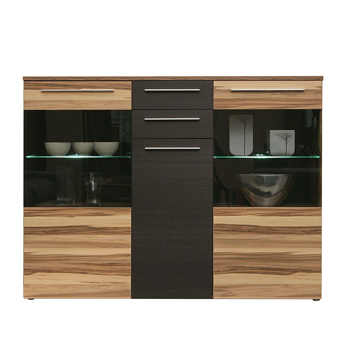 Sideboard Walnuss sideboard baltimore walnuss schwarz runabout co