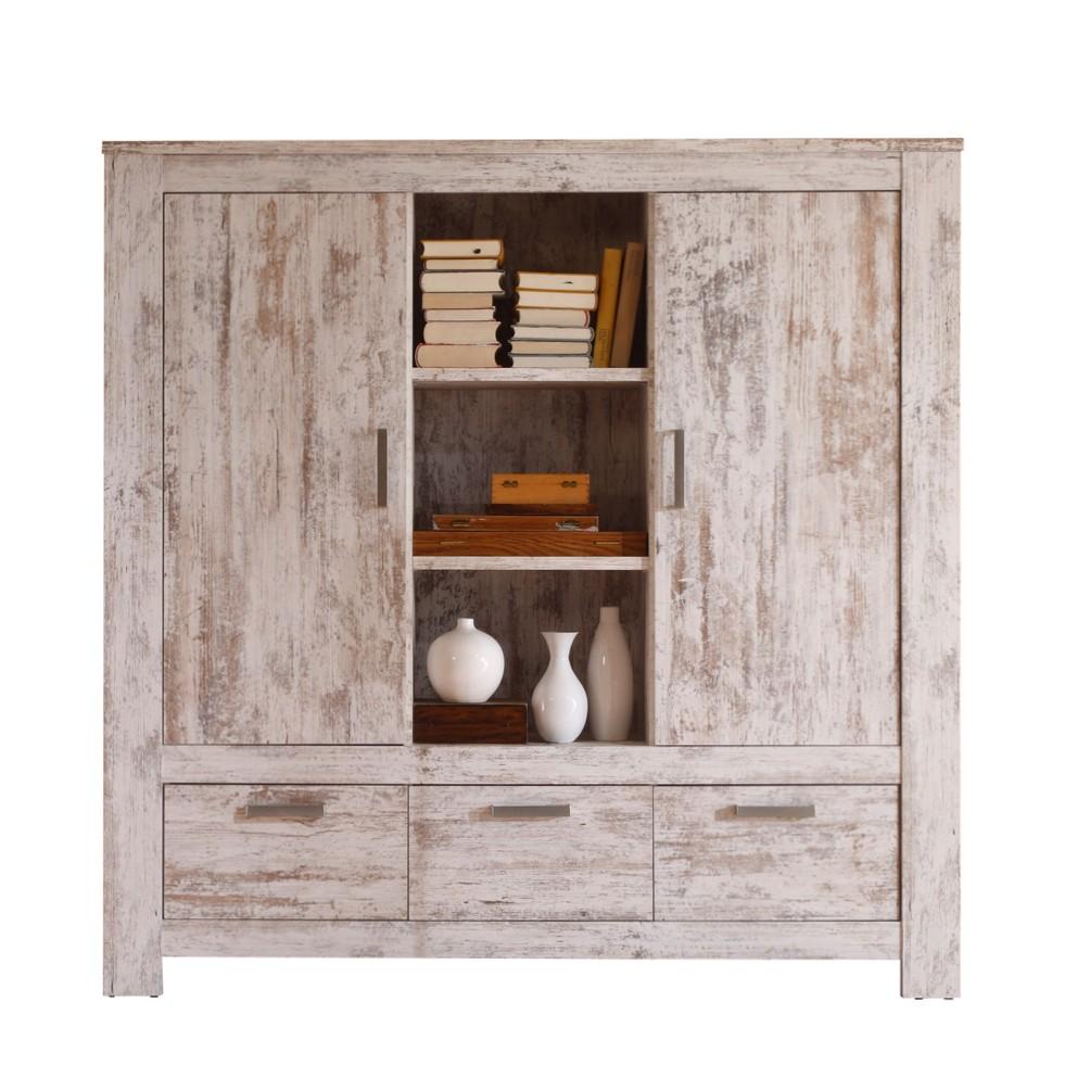 highboard salomon pinie vintage dekor mdf spanplatte. Black Bedroom Furniture Sets. Home Design Ideas