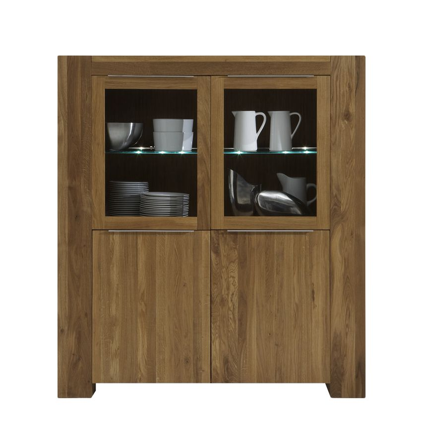 highboard san sebastian eiche massiv. Black Bedroom Furniture Sets. Home Design Ideas