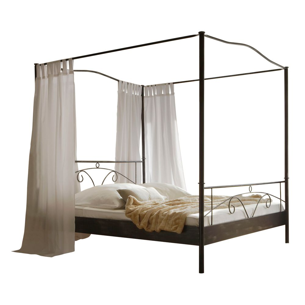 himmelbett metall schwarz inspiration design raum und m bel f r ihre wohnkultur. Black Bedroom Furniture Sets. Home Design Ideas
