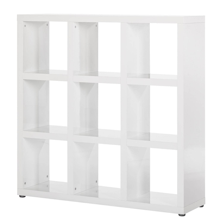 raumteiler madina ii hochglanz wei ebay. Black Bedroom Furniture Sets. Home Design Ideas