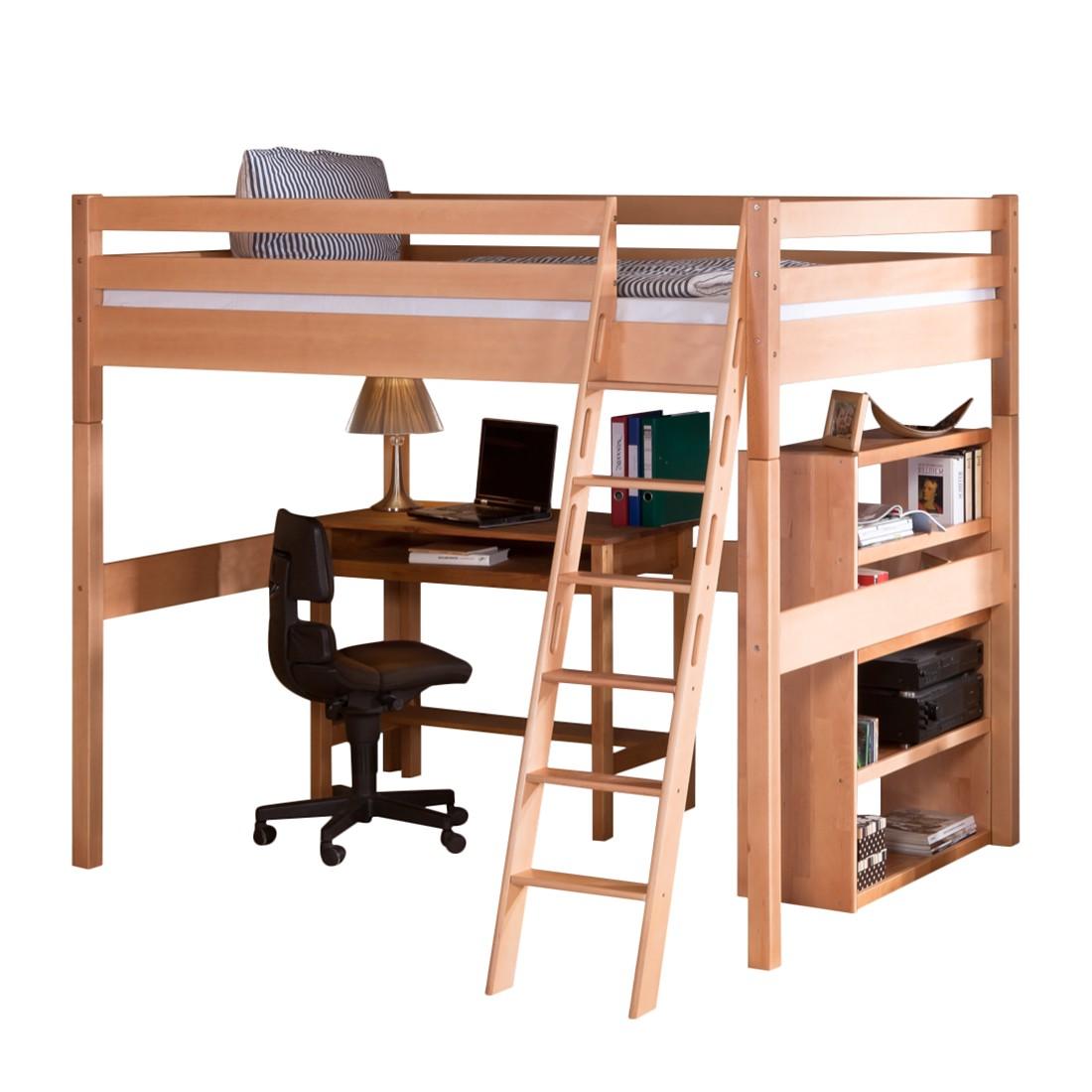 hochbett campus buche natur relita m rl 000001 kauf. Black Bedroom Furniture Sets. Home Design Ideas