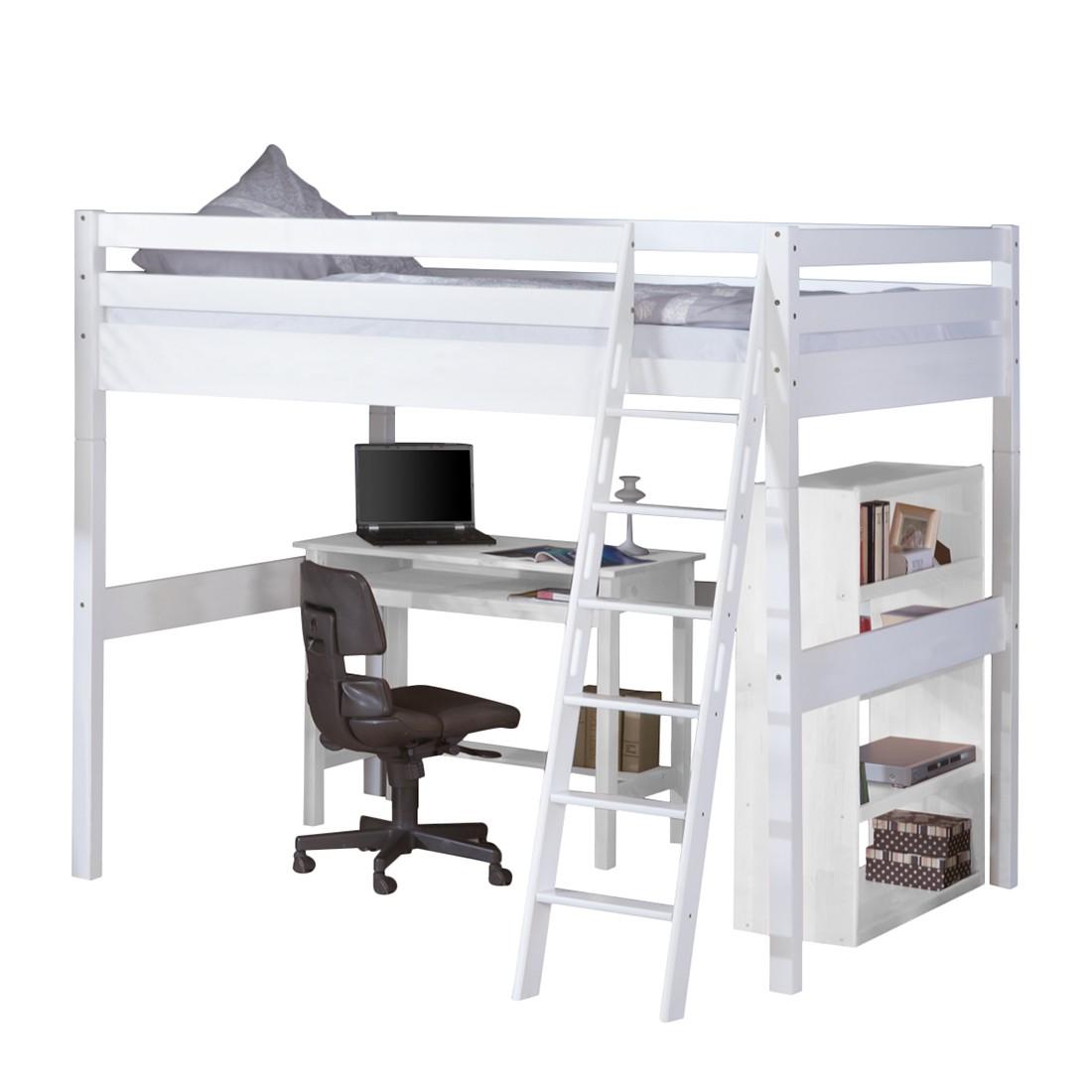 hochbett campus buche wei kinder bett etagenbett jugendbett stockbett ebay. Black Bedroom Furniture Sets. Home Design Ideas