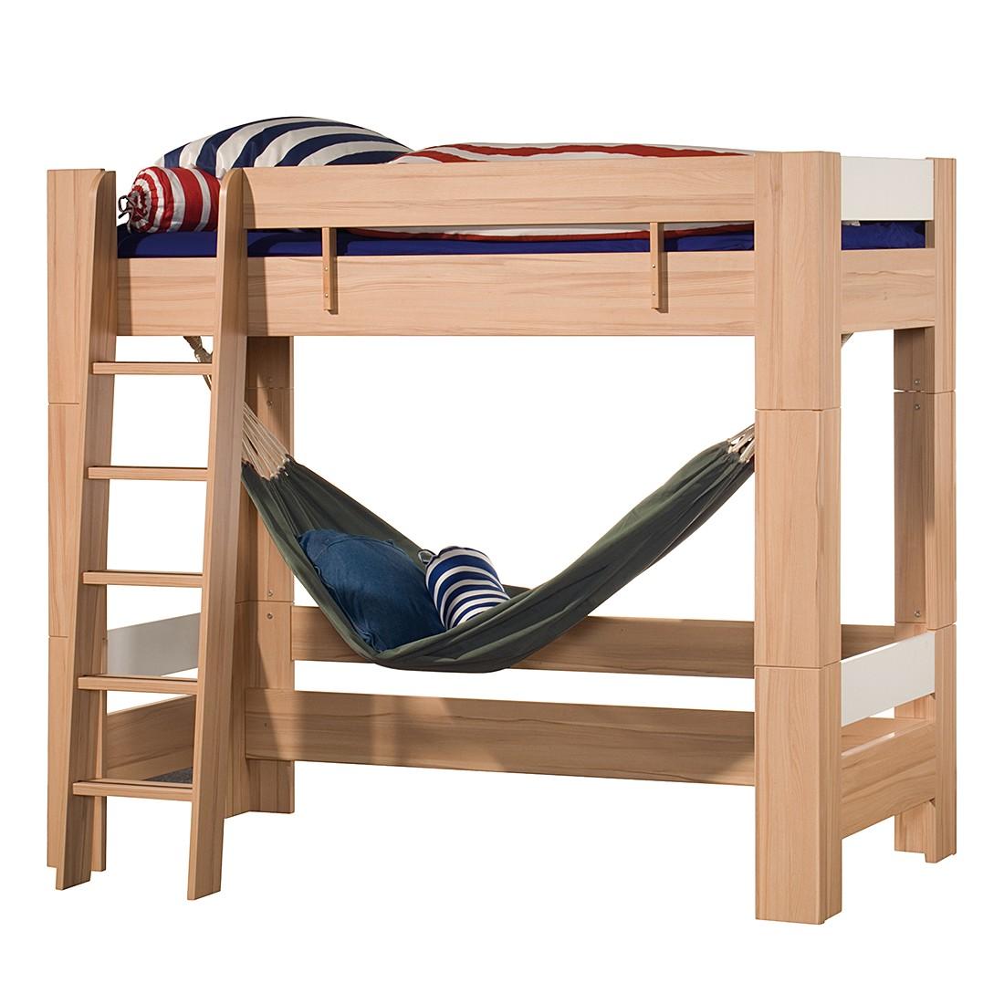 letto rialzato letto soppalco bambini scivolo pino. Black Bedroom Furniture Sets. Home Design Ideas
