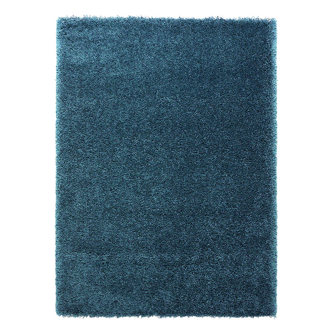 Hochflorteppich Coco – Blau – 240 x 340 cm, benuta günstig online kaufen