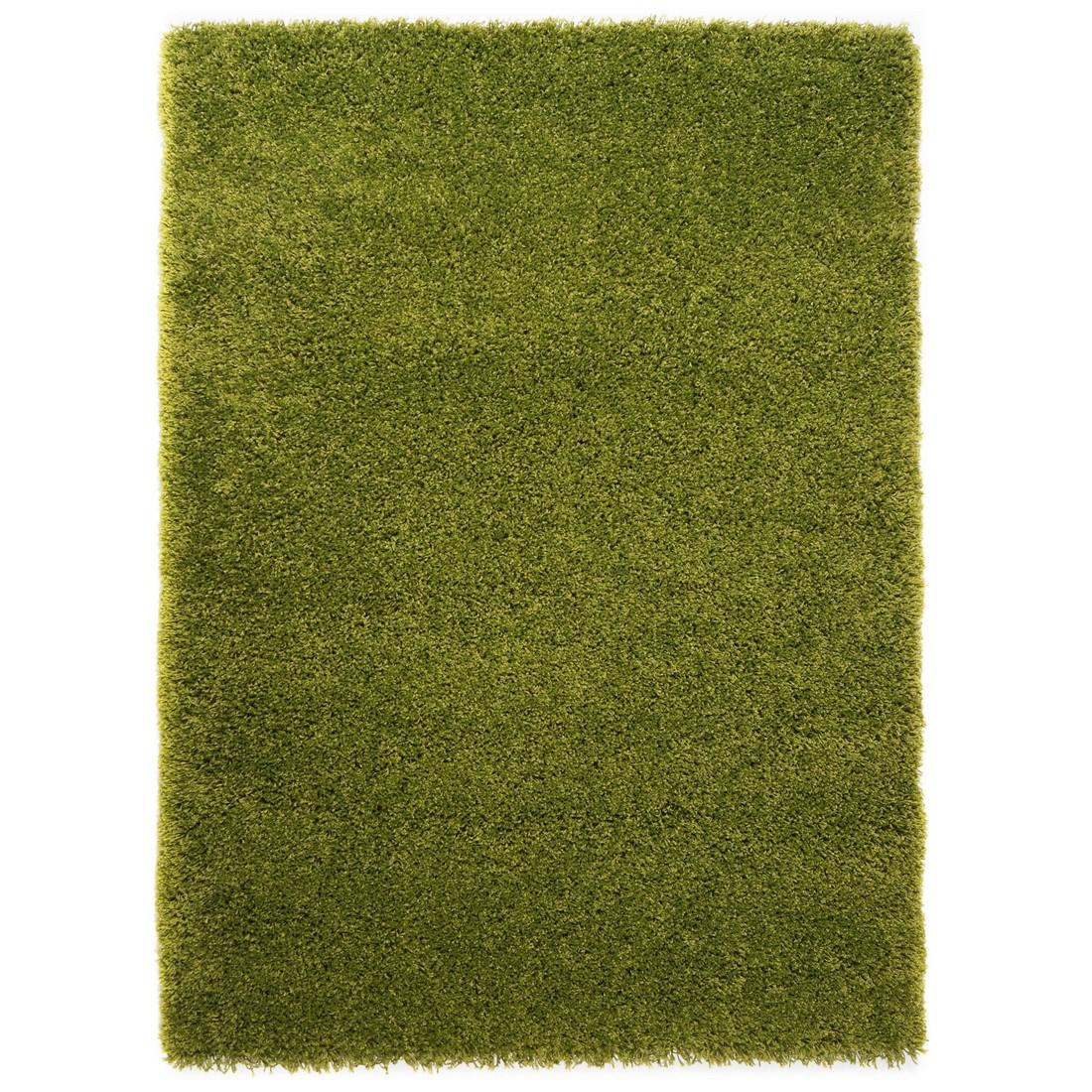 Hochflorteppich Coco – Grün – 200 x 200 cm, benuta günstig bestellen