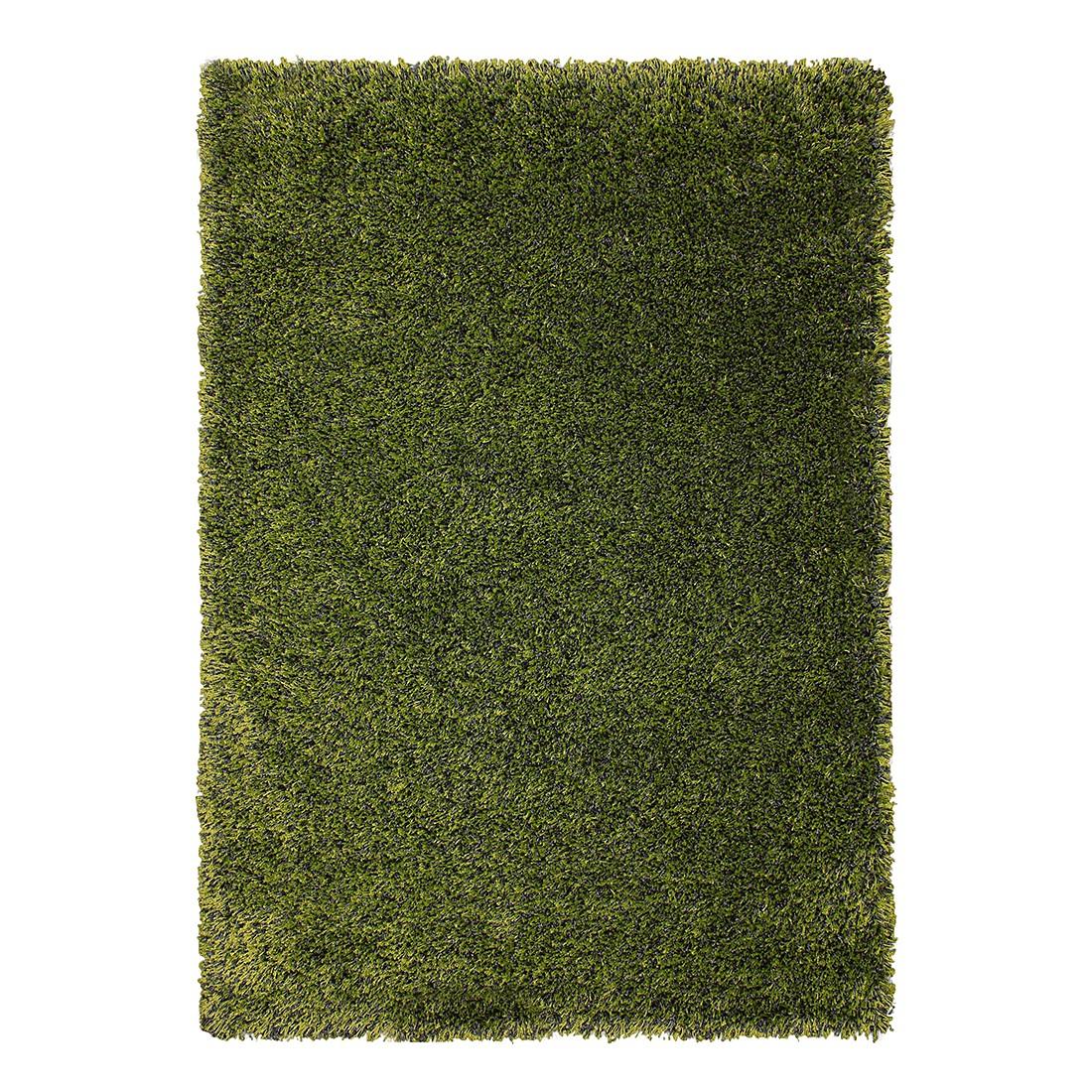 Hochflorteppich Poesia – Grün – 133 x 190 cm, benuta jetzt kaufen