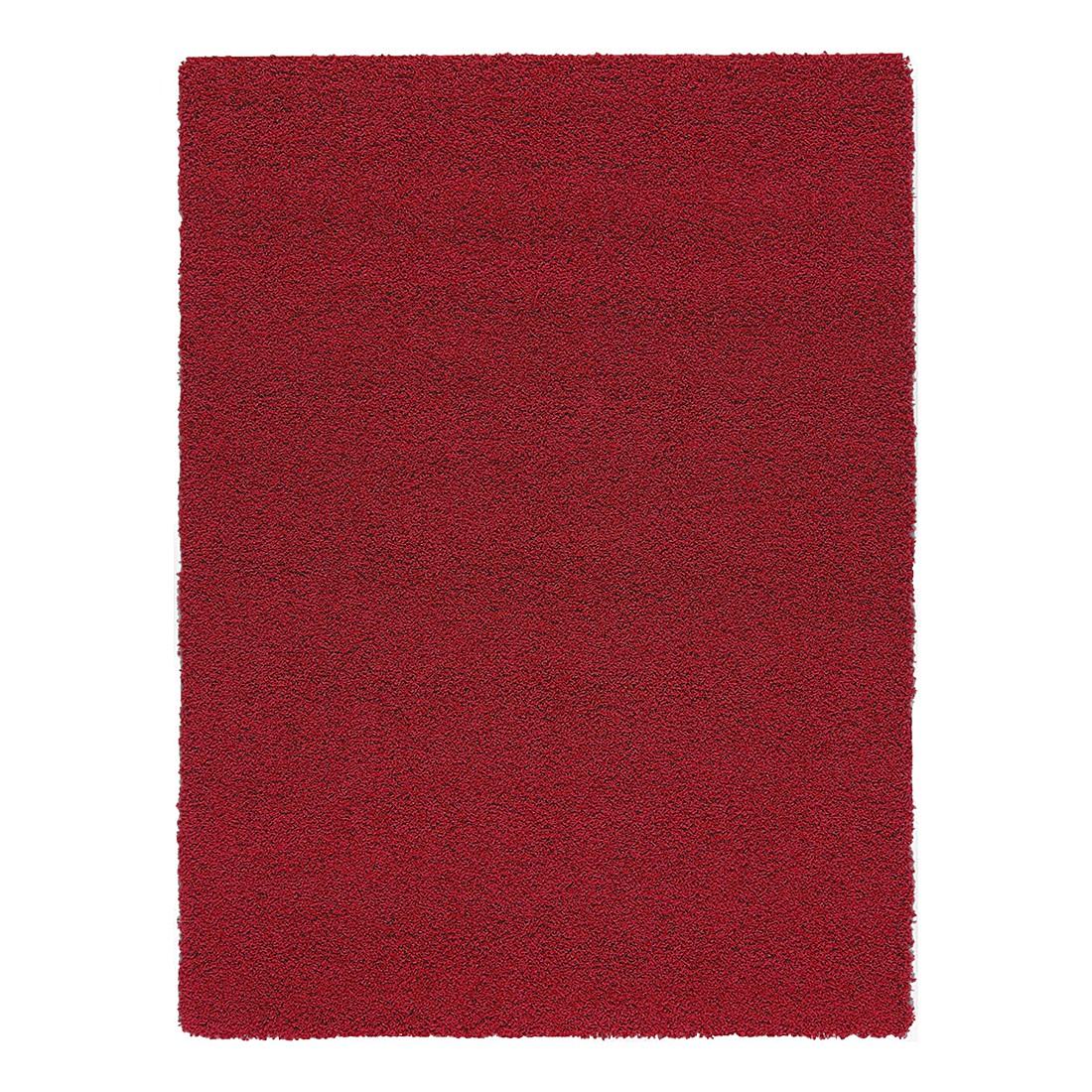 Hochflorteppich Swirls – Rot – 240 x 340 cm, benuta günstig kaufen