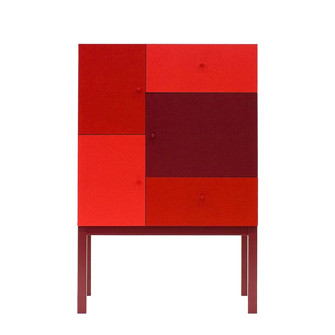highboard color ii rot tenzo m tz 0414 0142 kauf dir. Black Bedroom Furniture Sets. Home Design Ideas