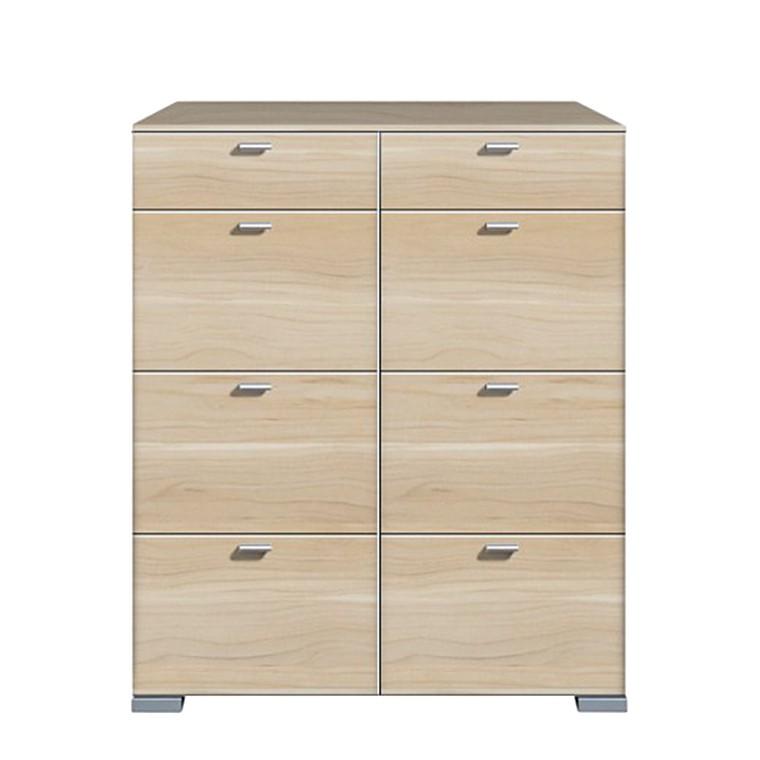 hochkommode gallery hg hochglanz schwarz 2 t rig arte. Black Bedroom Furniture Sets. Home Design Ideas
