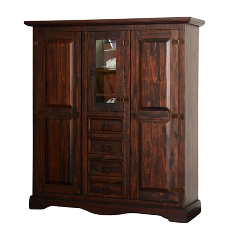 hochkommode glory pinie massiv dunkel gebeizt landhaus classic jetzt bestellen. Black Bedroom Furniture Sets. Home Design Ideas