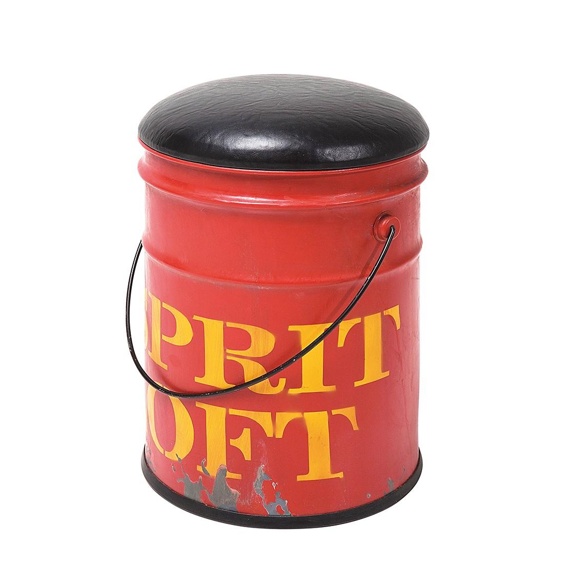 Hocker Bucket – Rot, Kare Design günstig bestellen