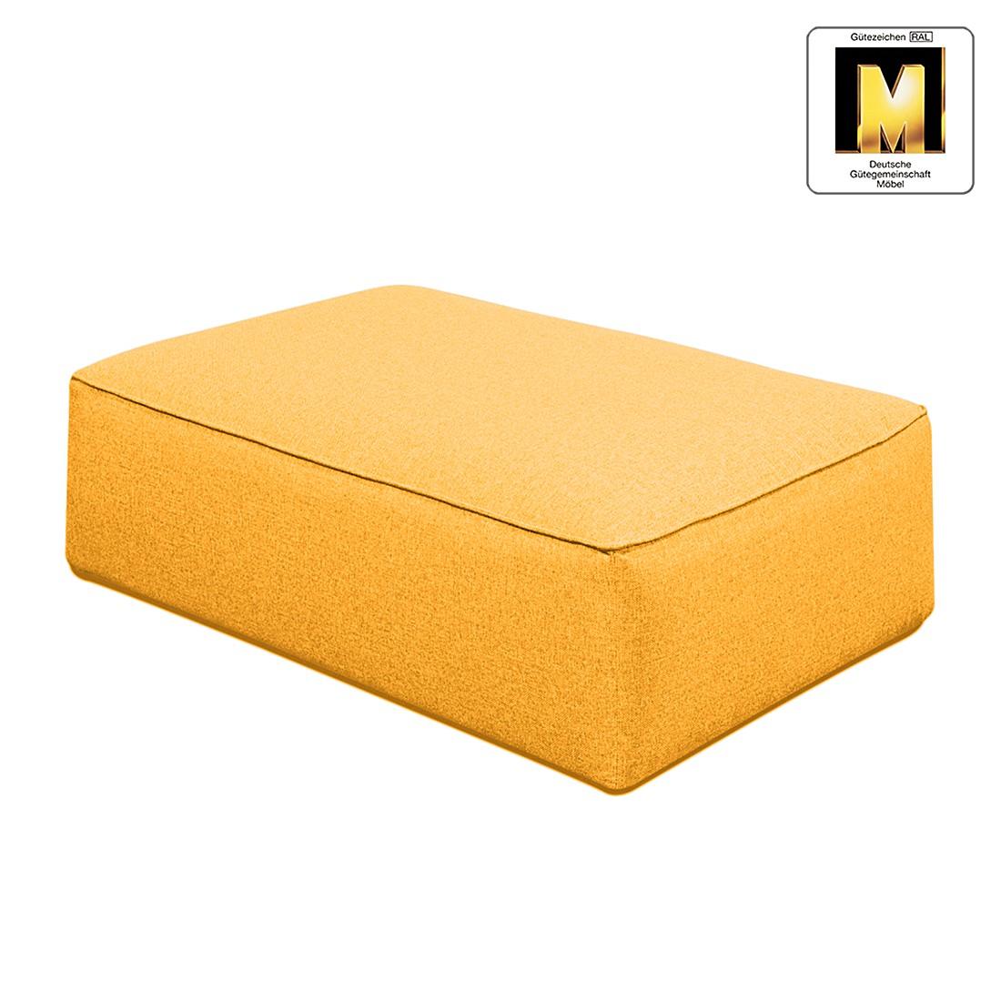 Hocker Casual Line VIII – Strukturstoff Gelb, Claas Claasen jetzt kaufen