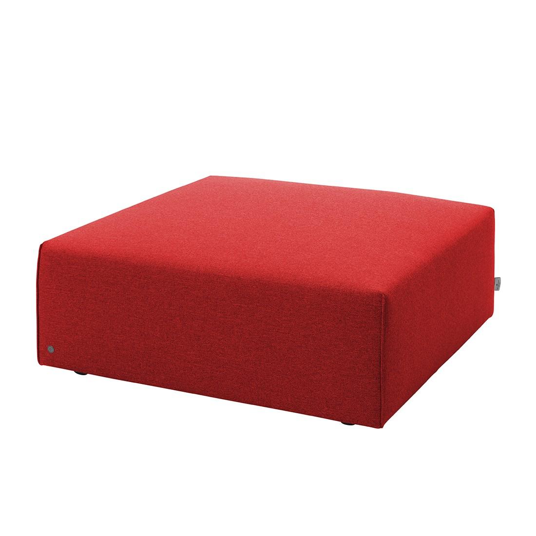 Hocker Elements – Strukturstoff – Rot, Tom Tailor günstig bestellen