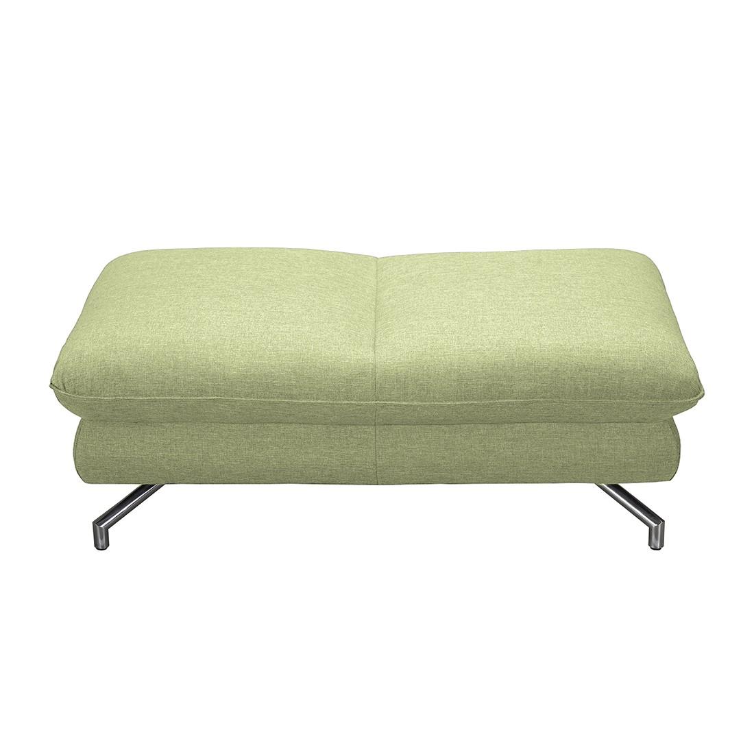 Hocker Enrico – Webstoff Grün, loftscape günstig bestellen
