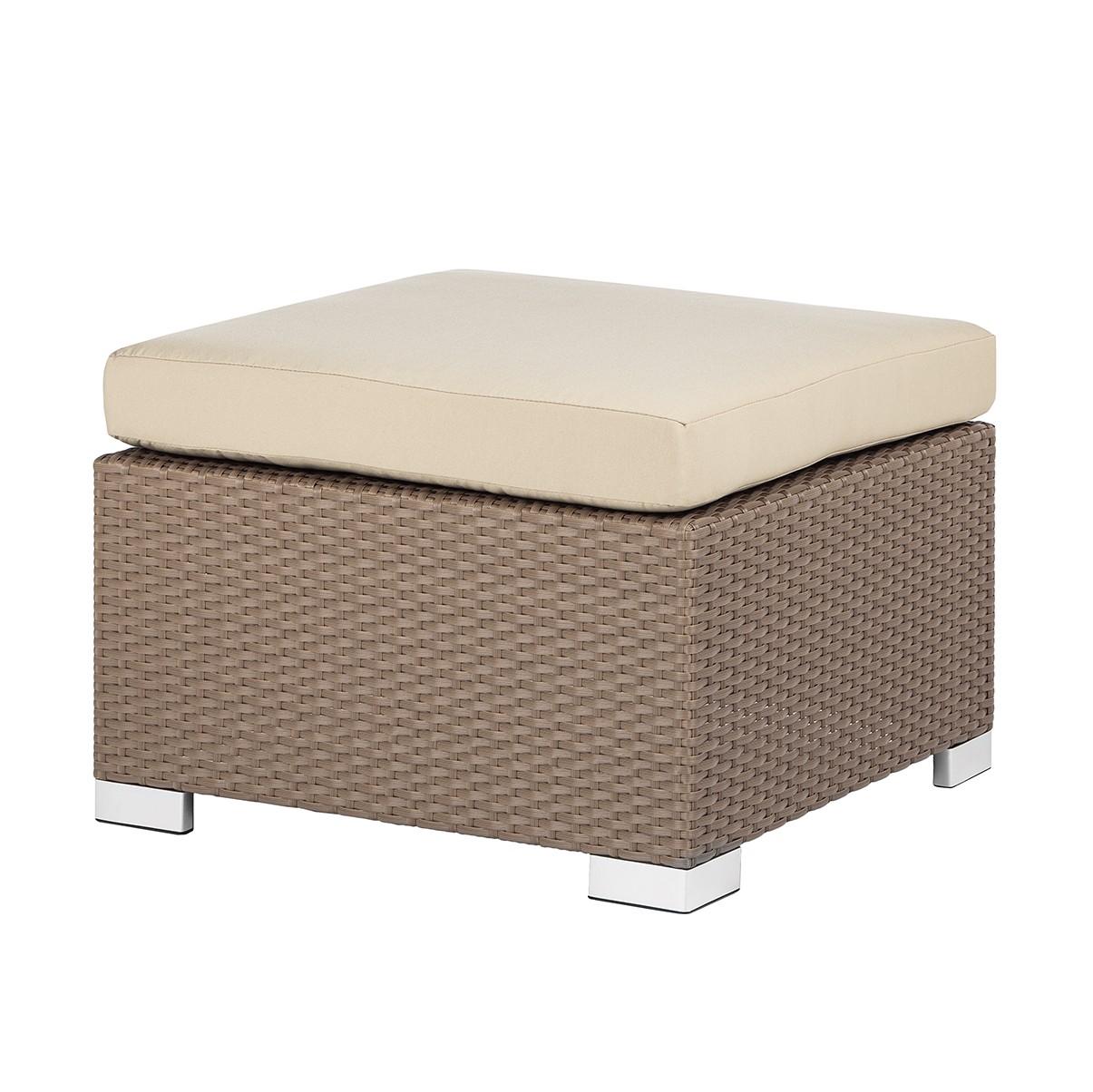 hocker facil polyrattan cappuccino kings garden online. Black Bedroom Furniture Sets. Home Design Ideas