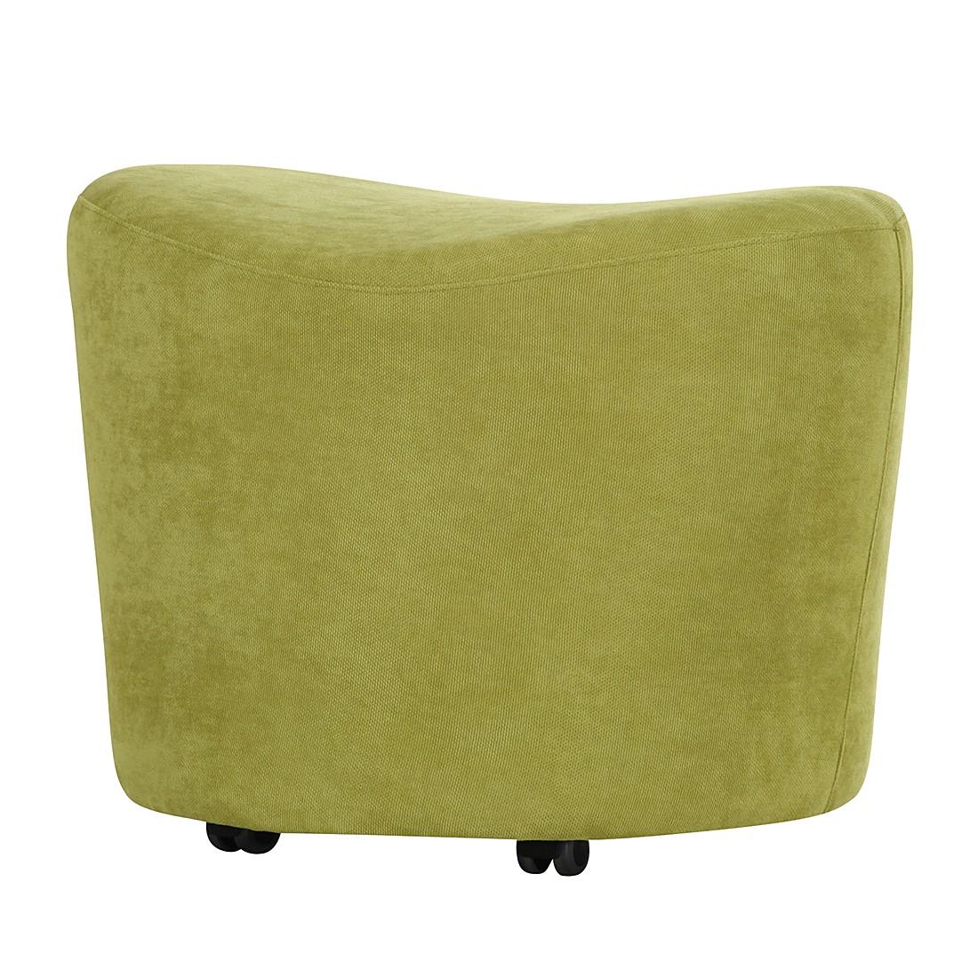 Hocker Kenai – Webstoff Grün, roomscape jetzt bestellen