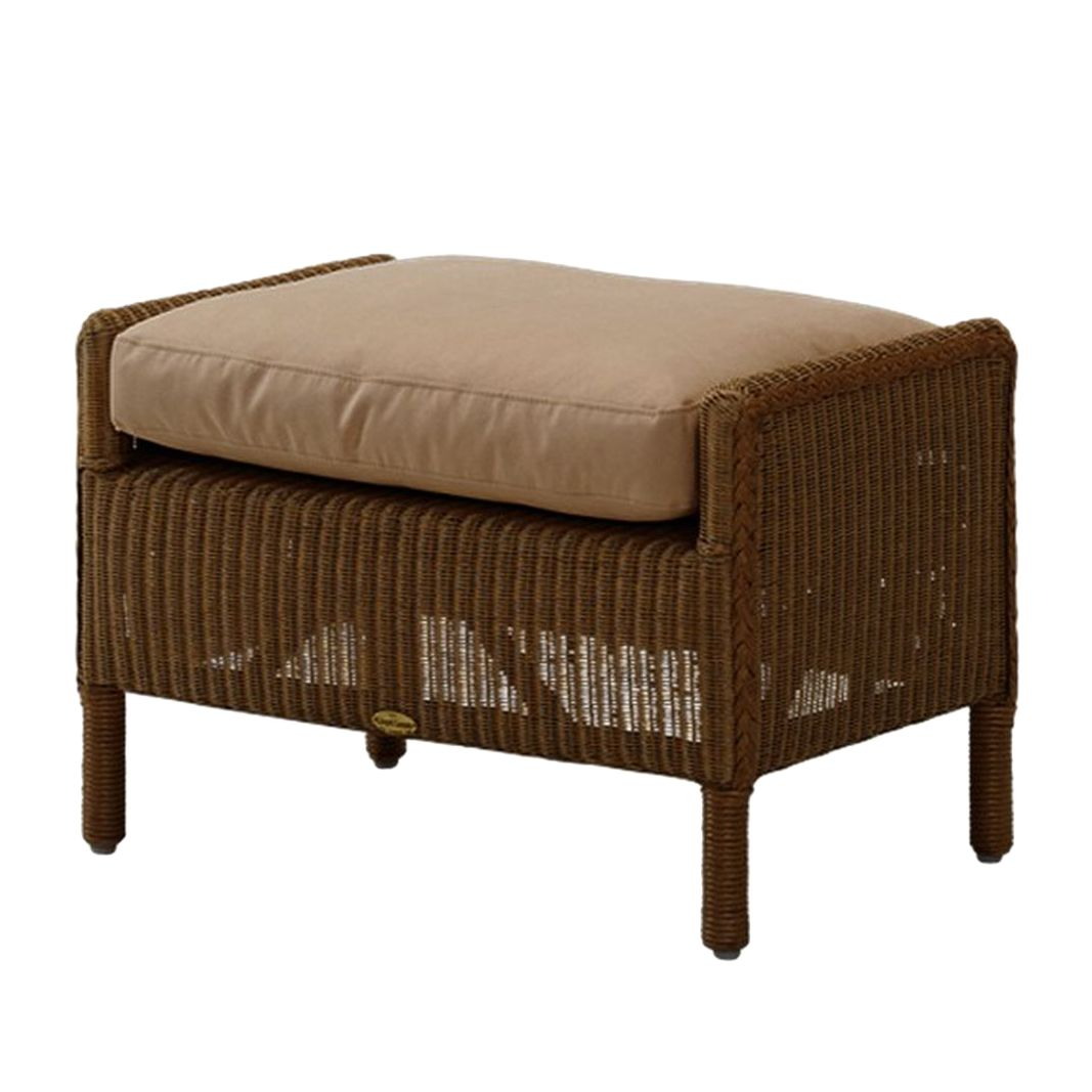 Hocker Lloyd Loom – natur/beige- rattan, Cats Collection günstig online kaufen