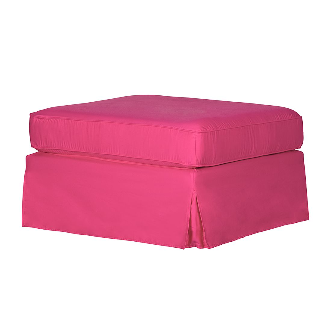Hocker Louanne – Baumwollstoff Pink, Jack & Alice jetzt bestellen