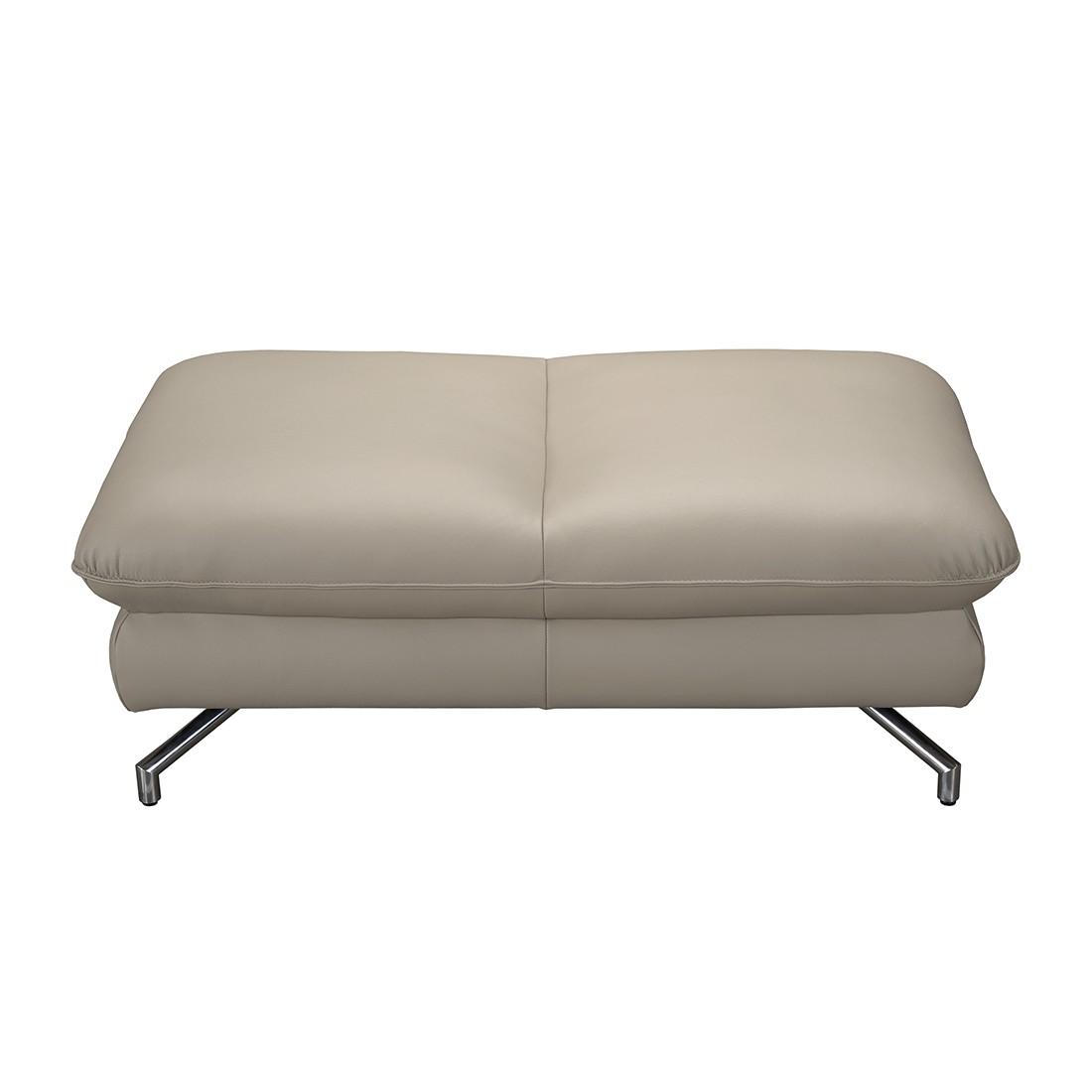 hocker sharon kunstleder taupe loftscape g nstig online kaufen. Black Bedroom Furniture Sets. Home Design Ideas