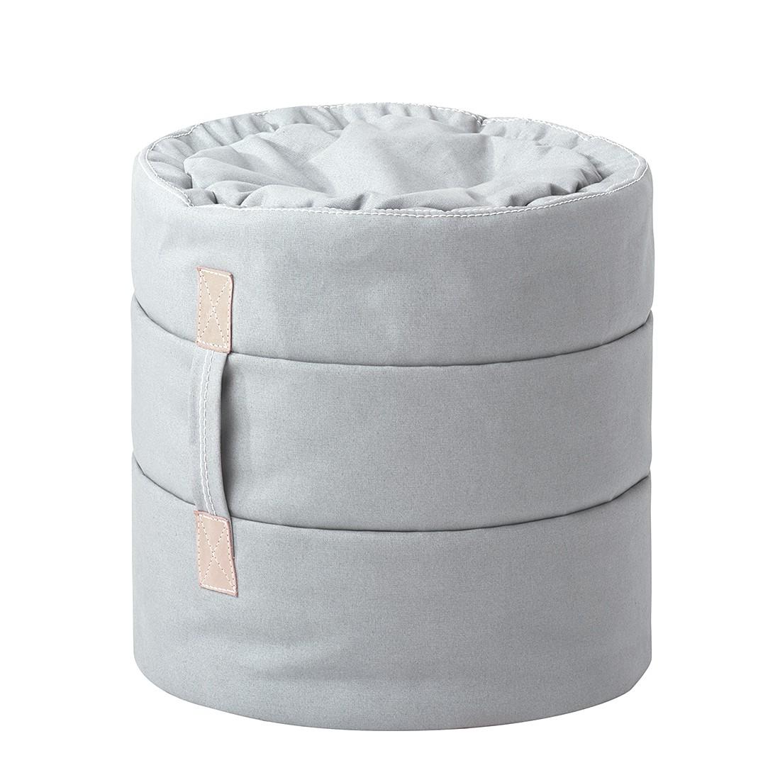 Hocker Tub I – Grau, Ikoonz jetzt kaufen