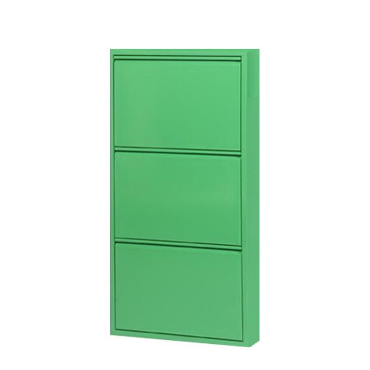 schuhschrank cabinet gr n 3 klappen h he 100 cm magazin m bel im online m belhaus bestellen. Black Bedroom Furniture Sets. Home Design Ideas