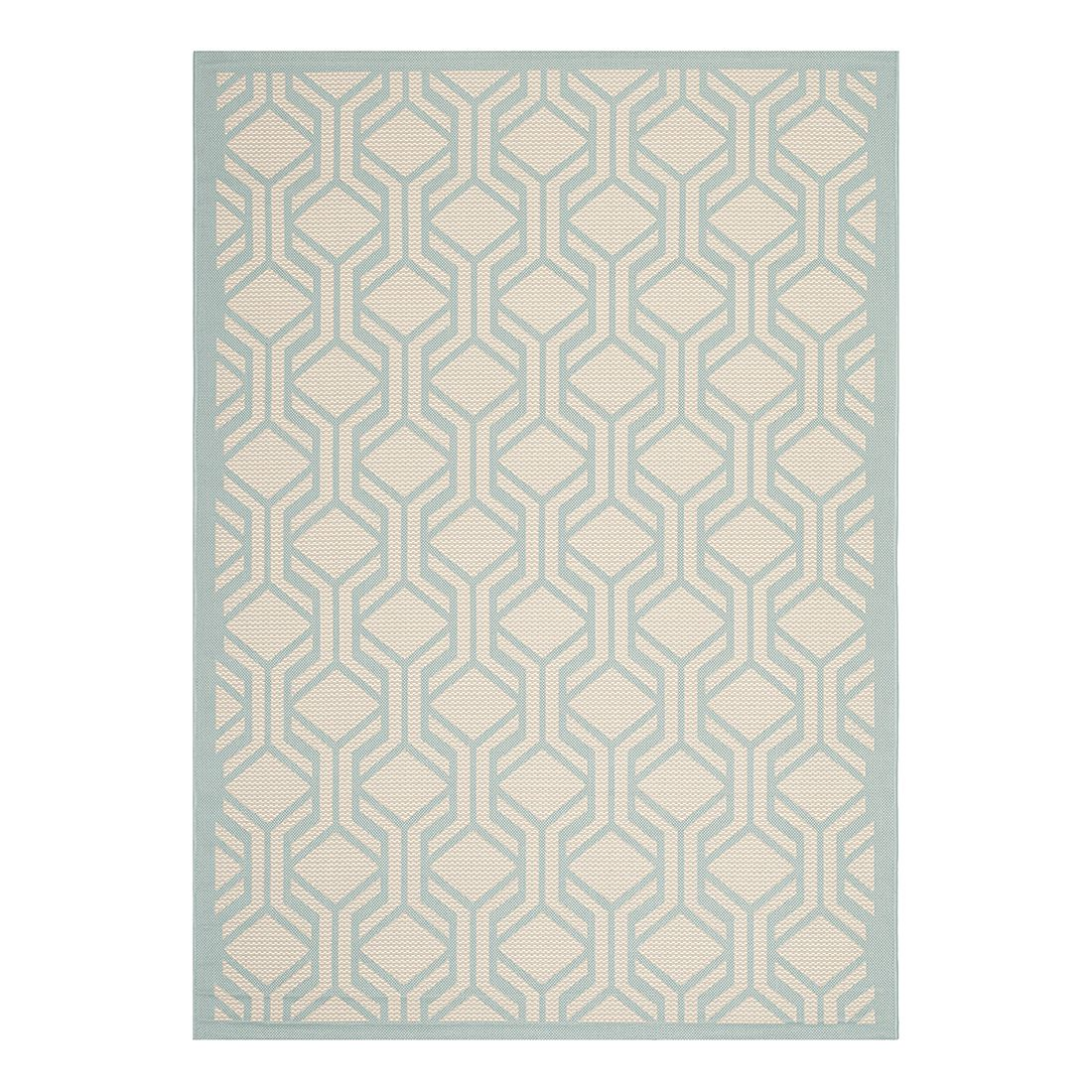 In-/Outdoorteppich Catalonia – Beige/Türkis – Maße: 200 x 289 cm, Safavieh kaufen