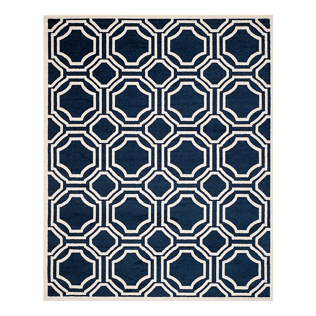 In-/Outdoorteppich Ferrat – Marine/Creme – Maße: 121 x 182 cm, Safavieh jetzt bestellen