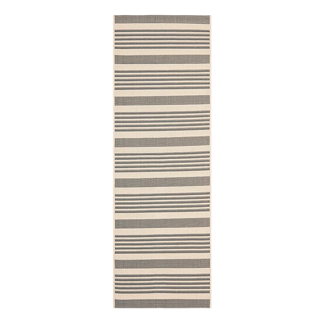 In-/Outdoorteppich Gemma – Grau/Beige – Maße: 68 x 243 cm, Safavieh online kaufen