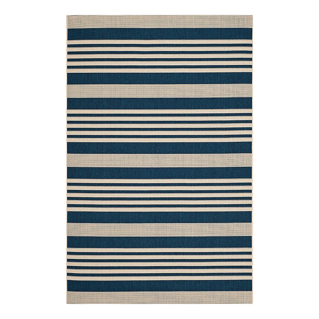 In-/Outdoorteppich Gemma – Marine/Beige – Maße: 200 x 289 cm, Safavieh kaufen