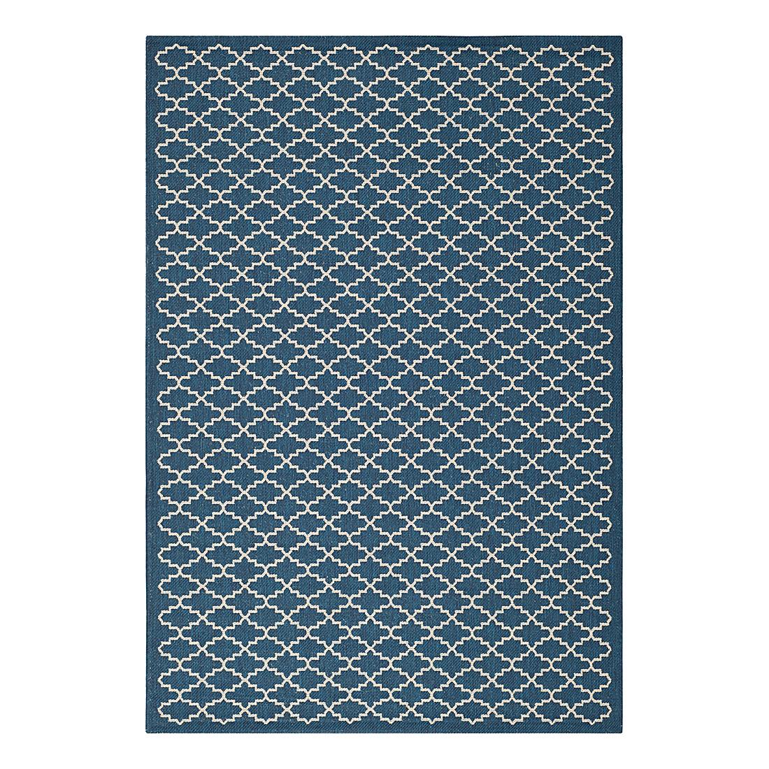In-/Outdoorteppich Gwen – 200 x 290 cm – Blau / Weiß, Safavieh jetzt bestellen
