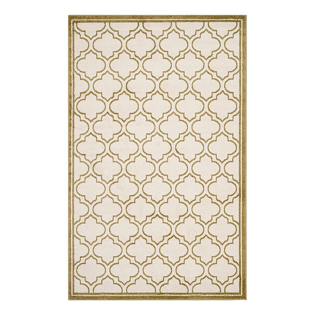 In-/Outdoorteppich La Salis – Creme/Hellgrün – Maße: 121 x 182 cm, Safavieh günstig online kaufen