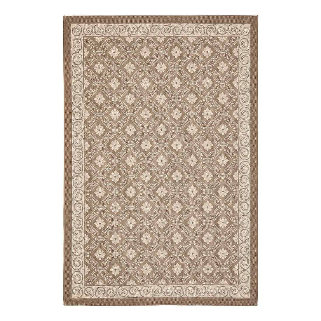In-/Outdoorteppich Theodore – Dunkelbeige/Beige – Maße:  160 x 231  cm, Safavieh günstig bestellen