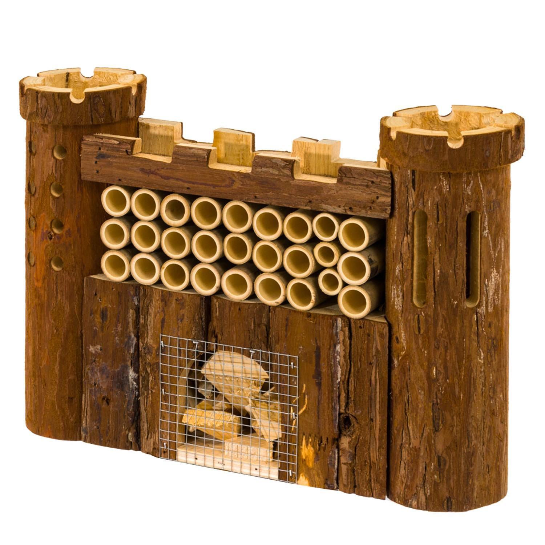 Insektenhotel Burg Holz Pure Day Günstig