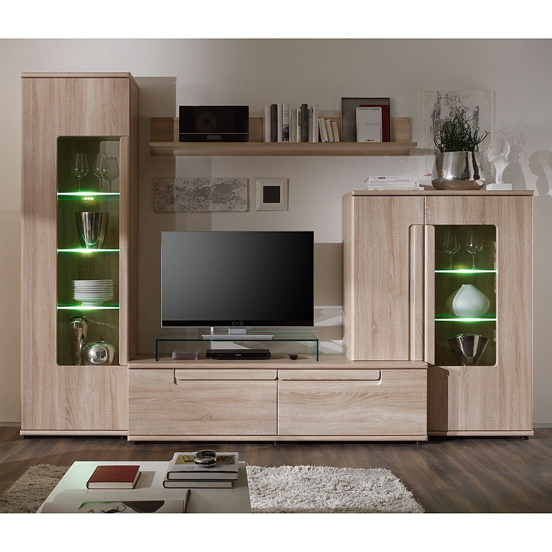 meuble tv dangle chene gris brooklyn solutions pour la d coration int rieure de votre maison. Black Bedroom Furniture Sets. Home Design Ideas