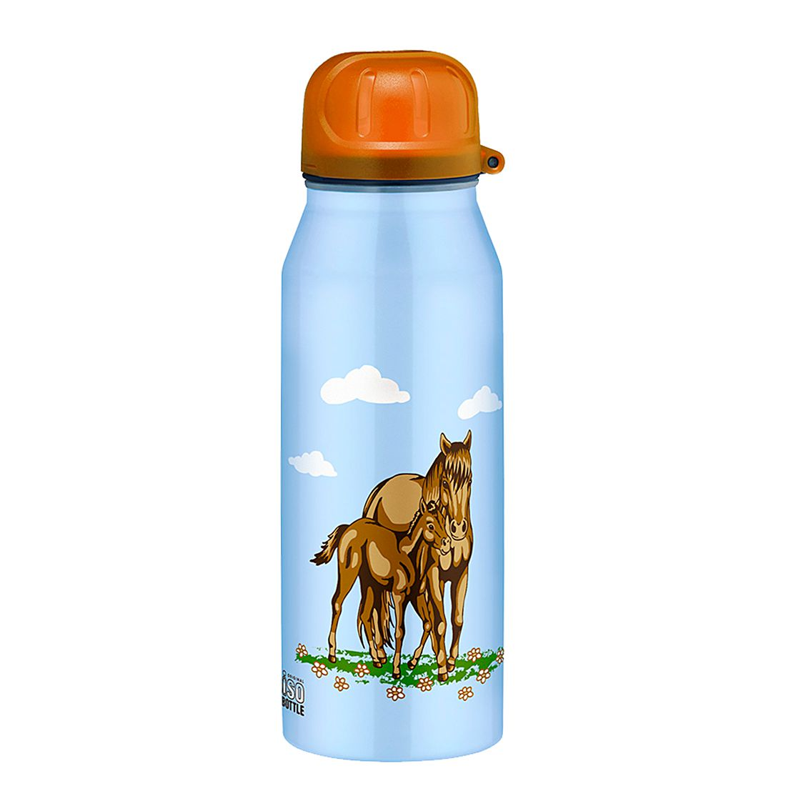 IsoBottle – Pferde Blau, 0,35 l, Alfi günstig bestellen