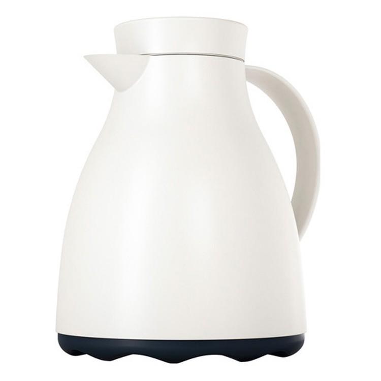 Isolierkanne Easy Clean – Kunststoff Weiß, Emsa jetzt kaufen