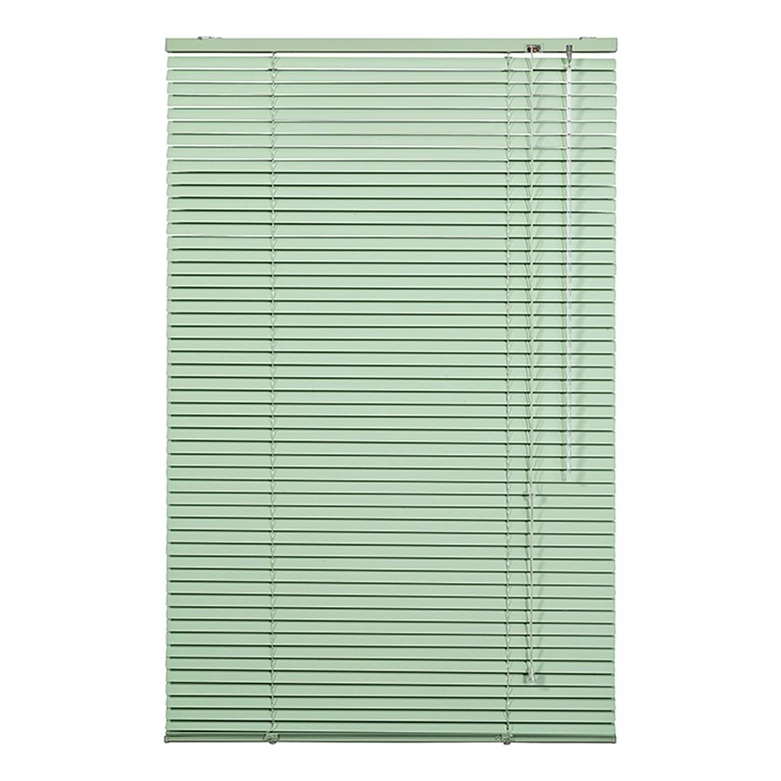 Jalousie Klemmfix – Aluminium, Grün – (H x B): 220 x 90 cm, Wohn-Guide bestellen
