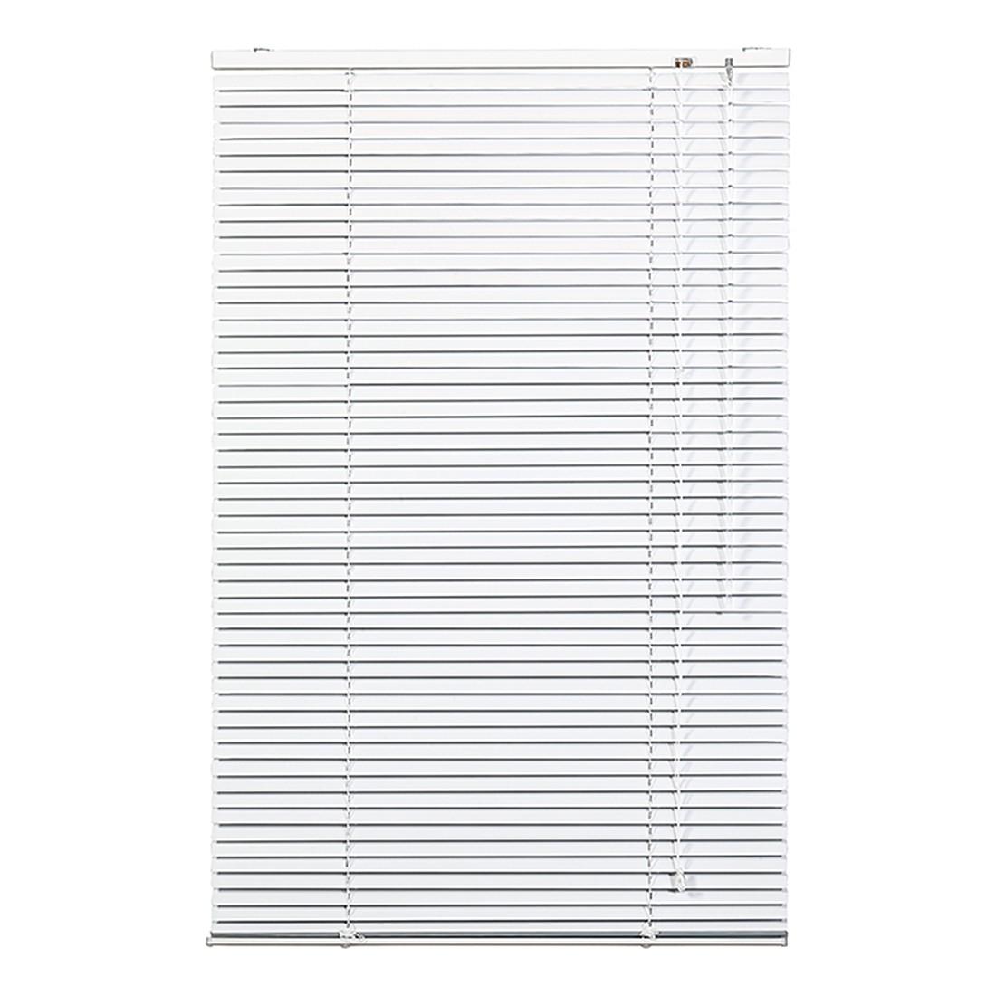 Jalousie Klemmfix – Aluminium, Weiß – (H x B): 60 x 40 cm, Wohn-Guide günstig online kaufen