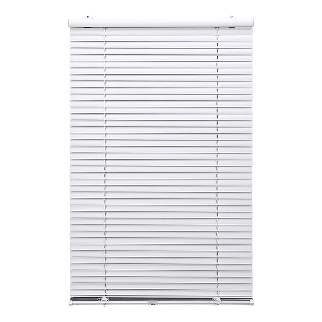 Jalousie Klemmfix – Aluminium, Weiß – (H x B): 130 x 90 cm, Wohn-Guide jetzt bestellen