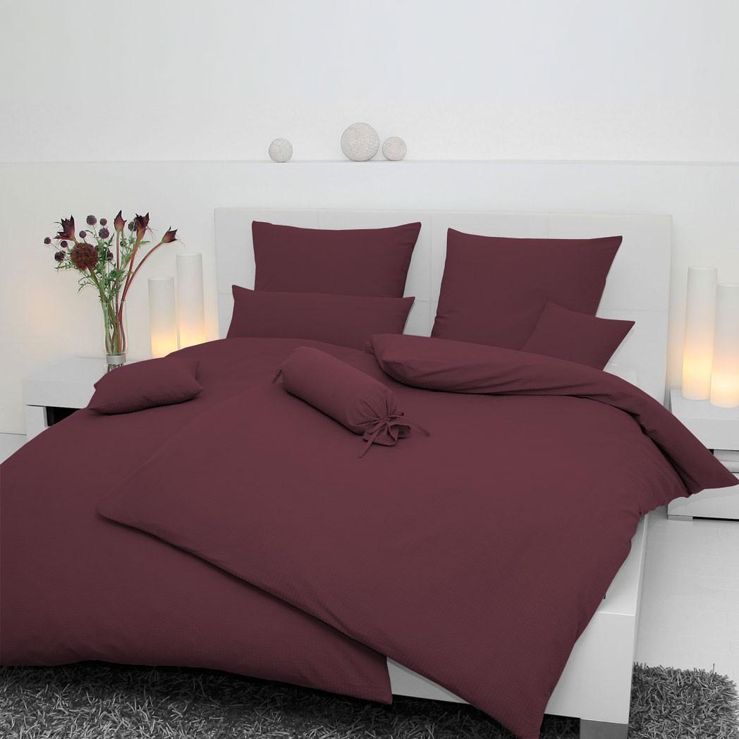 Jersey-Bettwäsche Fuchsia 5007-55 – 100% Baumwolle – Fuchsia – 40 x 80 cm, Janine günstig bestellen
