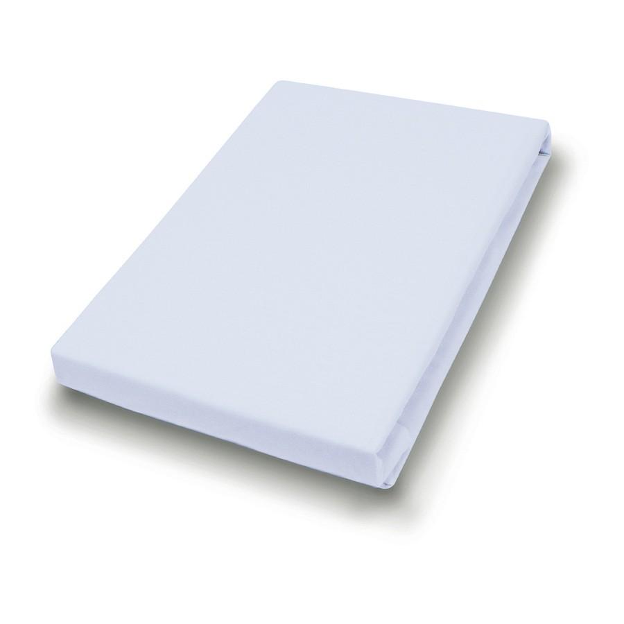 Jersey-Spannbetttuch – Hellgrau – 90-100 x 200 cm, vario jetzt bestellen