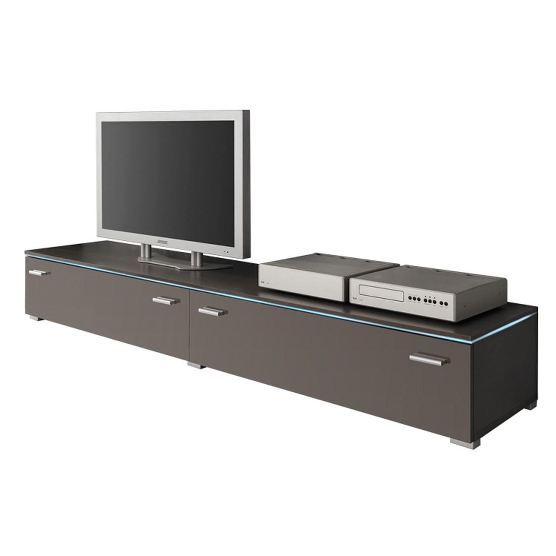 TV-Element Jolly II – mit zwei Klappen – Hochglanz Anthrazit – 180 cm, California günstig kaufen